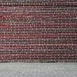 Grungy urban background of a brick wall — Stock Photo #10741514