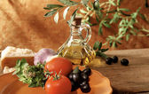 Italian and mediterranean setting — Stock Photo