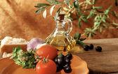Italian and mediterranean setting — Stock Photo