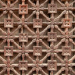 Carved Wooden Latticework — Stock Photo