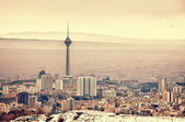 Tehran Skyline — Stock Photo
