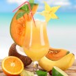 Fruit cocktails — Stock Photo #11058795