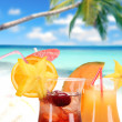 Fruit cocktails — Stock Photo #11058826