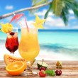 Fruit cocktails — Stock Photo #11058995