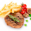Grilled steaks — Stock Photo #11059617