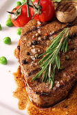 Gegrilltes steak — Stockfoto