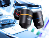 Microscoop — Stockfoto