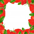Stock Photo: Strawberry background