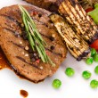 Grilled beef steak — Stock Photo #12012469