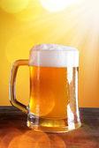 Beer glasses — Stock Photo
