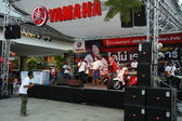 Yamaha promotion in Thailand — Stock Photo