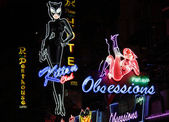 Red light district in Pattaya — Stock Photo