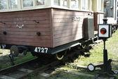 老式的苏联火车 — 图库照片