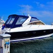 Stock Photo: Motor yacht