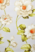 Floral canvas texture — Stock Photo