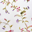 Floral pattern fabric — Stock Photo #11408125
