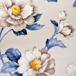 Fabric, floral pattern — Stock Photo