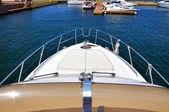Nos jachty — Stock fotografie