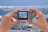 Digital camera — Zdjęcie stockowe