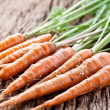 Carrots with leaves — Stock Photo #11955719