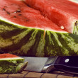 Slice of water-melon - Stock Photo