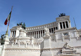 National Monument to Victor Emmanuel II — Stock Photo