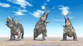 Diabloceratops — Stock Photo