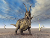Diabloceratops — Stock Photo