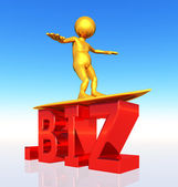 BIZ Top Level Domain — Stock Photo