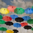 Umbrella background — Stock Photo