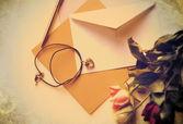 Cartão de memória amor — Fotografia Stock
