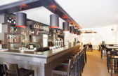 Interior of bar — Stock Photo