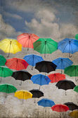Umbrella background — Stockfoto
