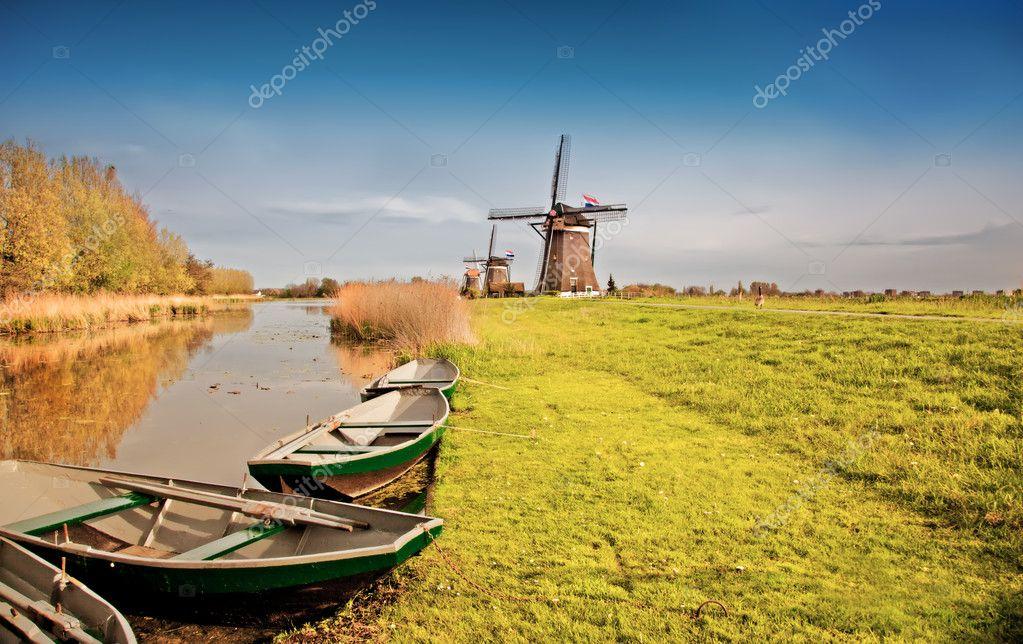 传统的荷兰风景