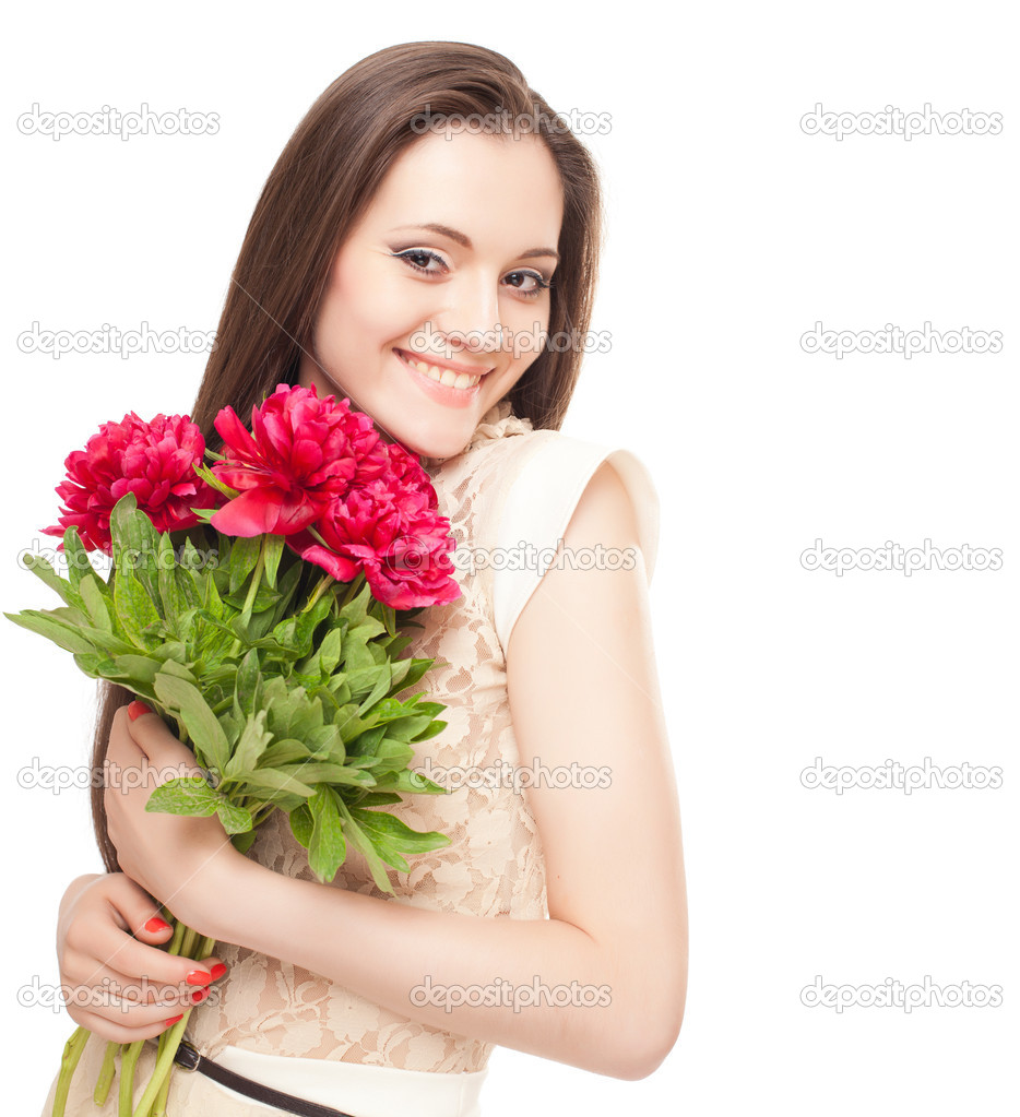 картинки для девушки с цветами