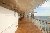 Promenade Deck — Stock Photo
