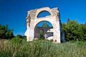 Ruins of Church, Kiev region, Ukraine — Stock Photo