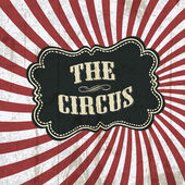 Circo clásico fondo, vector, eps10 — Vector de stock