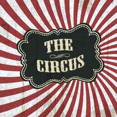 Klassieke circus achtergrond, vector, eps10 — Stockvector