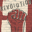 Revolution! vector illustration, EPS10 - Stock Vector