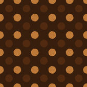 """Coffee dot"" seamless background, vector, EPS10. — Stock Vector"