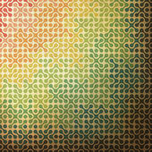 Abstract rainbow background made from joined parts. Vector, EPS1 — Stock Vector