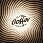 Modèle de conception de fond abstrait café. vecteur, eps10 — Vecteur