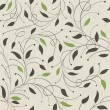 Seamless ecology pattern with leaves. Vector, EPS10 — Stock Vector #11978799