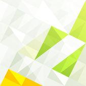 Abstrato geométrico gama verde. vector, eps10 — Vetorial Stock