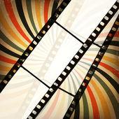 Fondo de cine grunge. vector, eps10 — Vector de stock