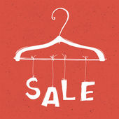 Sale concept vector illustration. EPS10 — Vettoriale Stock