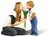 Flowers for Mom — Stock Photo