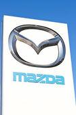 Sign for Mazda — Stock Photo