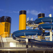 Water slide on cruise ship — Stock Photo #10801930